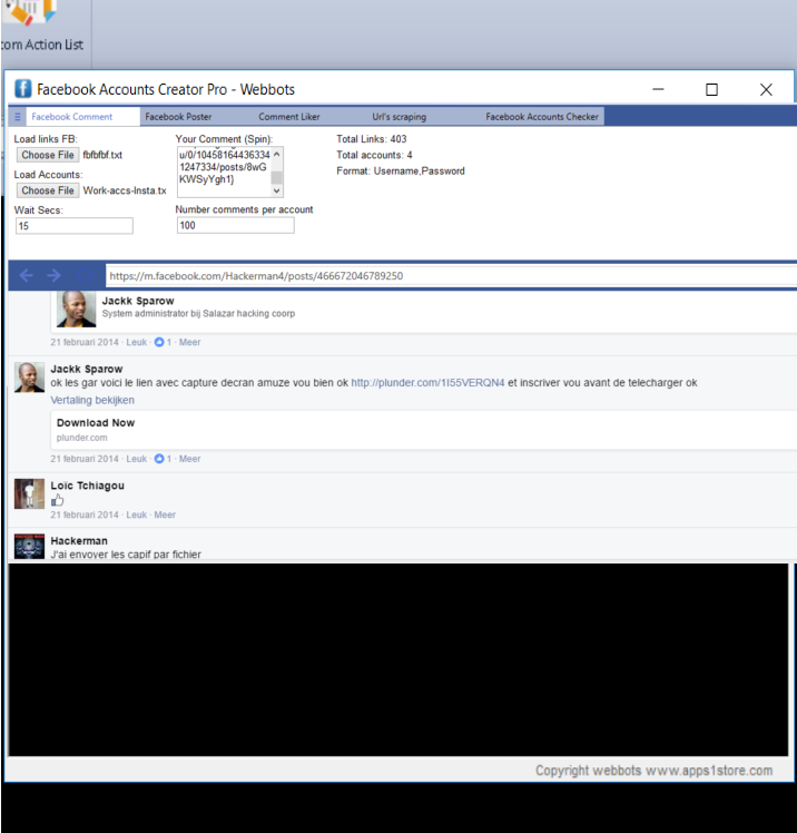 Bulk Facebook accounts creator tool | Automation Software